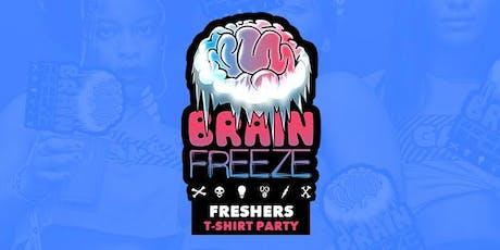 Brainfreeze Freshers T-Shrit Party 2019 tickets