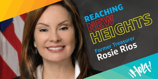 ¡HOLA! BRG Presents - Rosie Rios 43rd Treasurer of the United States