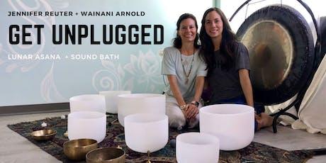 Get Unplugged - Gentle Yoga + Sound Bath tickets