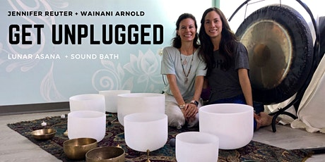 Get Unplugged - Gentle Yoga + Sound Bath tickets