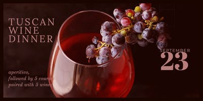Tuscan Wine Dinner at Bambolina