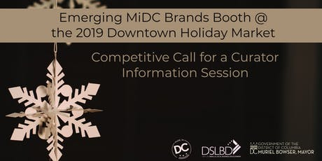 Info Session: Application for Emerging MiDC Brands Curator tickets