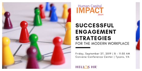 Successful Engagement Strategies for the Modern Workplace tickets