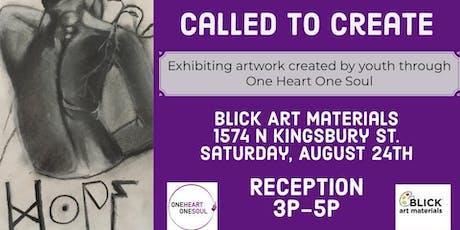 Called to Create Art Exhibit tickets