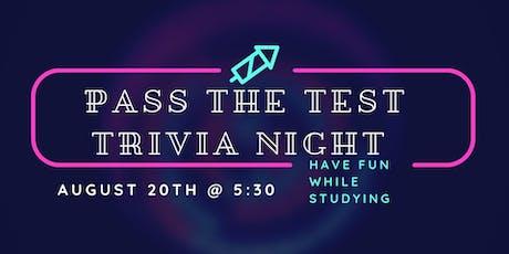Pass the Test Trivia Night tickets