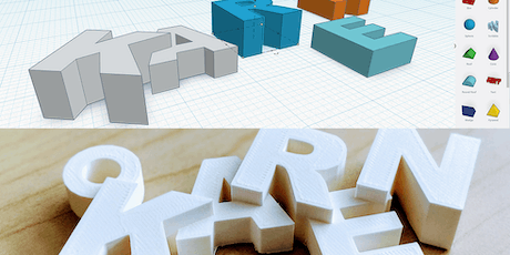 Introduction to 3D Design & Print for UVic Libraries' DSC - October 10, 2019 tickets