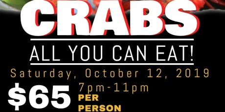 Crab Feast 10/12/2019 tickets