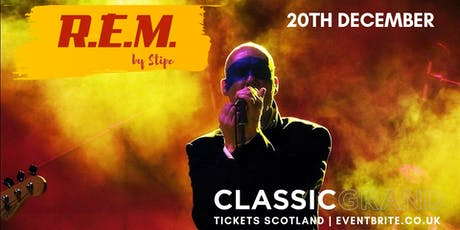 R.E.M. by Stipe tickets