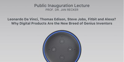 Public Inauguration Lecture - Prof. Dr. Jan Recker