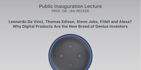Public Inauguration Lecture - Prof. Dr. Jan Recker Tickets