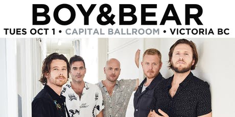 Boy & Bear tickets