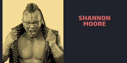 Shannon Moore Meet & Greet Combo/WrestleCade FanFest 2019