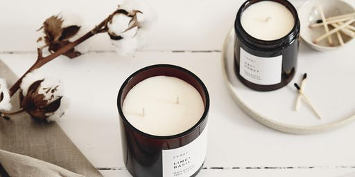 Natural Wax Candle Workshop