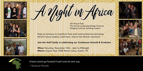2019 African Leadership Bridge Fall GALA tickets