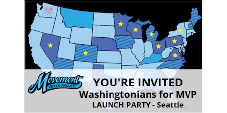 Washingtonians For MVP kick-off party! tickets