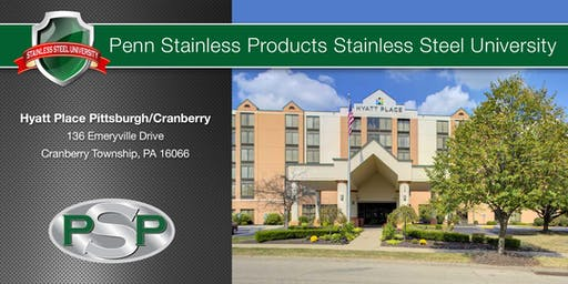 Stainless Steel University - Pitt (Cranberry) - Sept 24