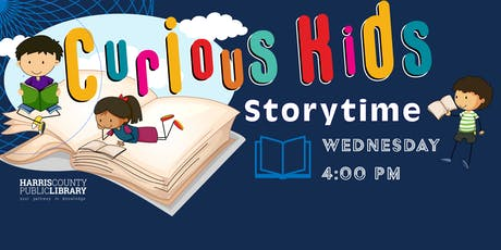 Curious Kids Storytime at the Chinese Community Center of Houston tickets