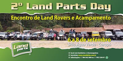 2º Land Parts DAY - Encontro de Lands