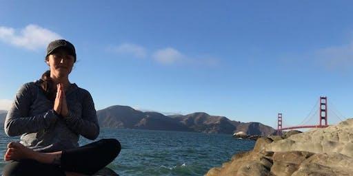 Urban Yoga Hike: Baker Beach