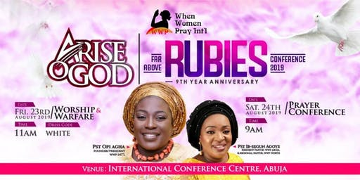 Far Above Rubies Prayer Conference