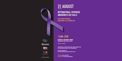 National Overdose Awareness Rally