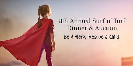 8th Annual Agape Villages Surf n' Turf Dinner & Auction tickets