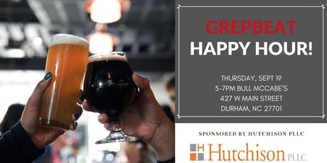 GrepBeat September Happy Hour tickets