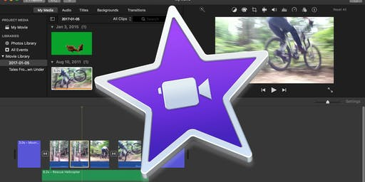 Introduction to Video Editing with iMovie for UVic Libraries' DSC - October 22, 2019
