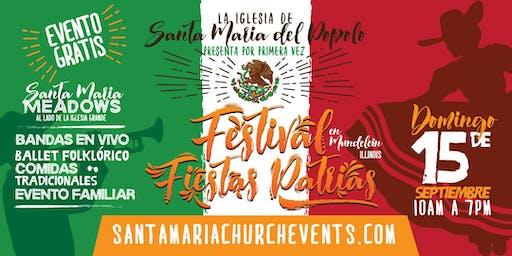 Festival Fiestas Patrias at Santa Maria Church