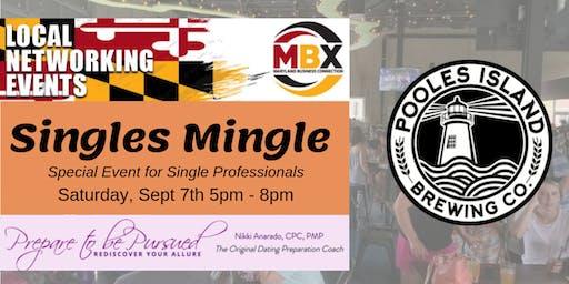Special Event - MBX & Prepare to be Pursued PRESENT Biz Singles Mingle
