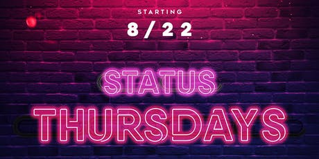 Status Thursday's at 321 lounge tickets