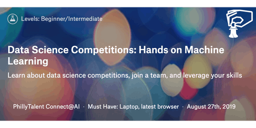 Data Competitions: Hands On Machine Learning August Cohort