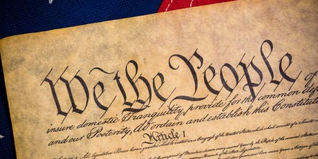 CONSTITUTION DAY RULE OF LAW TOWN HALL  tickets