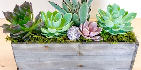 Make-n-Take: Succulent Centerpieces tickets