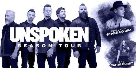 UNSPOKEN, THE REASON TOUR 2019 tickets