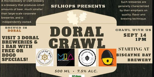 Doral Beer Crawl