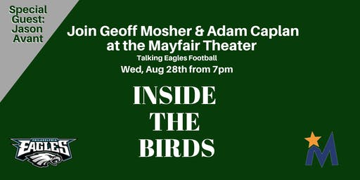 Inside The Birds Live Podcast with Geoff Mosher & Adam Caplan