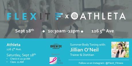 Athleta x FlexIt Round 2:  Body Toning with Jillian O'Neil tickets
