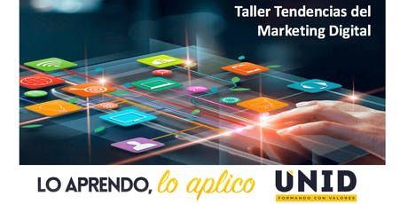 Taller sobre Tendencias del Marketing Digital boletos