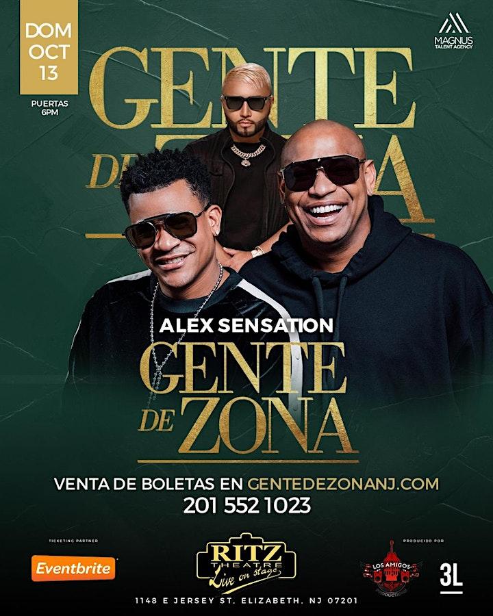 GENTE DE ZONA EN CONCIERTO CON ALEX SENSATION EN NEW JERSEY / NYC! image