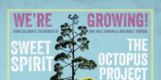 Nine Mile Party! feat. Sweet Spirit, Octopus Project, Think No Think, Star Parks @ Barracuda Austin
