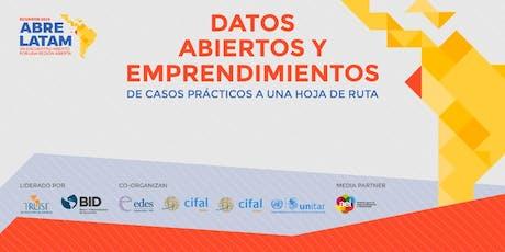 """""""Datos Abiertos y Emprendimientos: de casos prácticos a una hoja de ruta"""" entradas"""