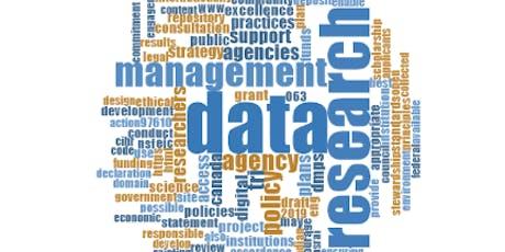 Hands-on Data Management Planning - October 24, 2019 tickets