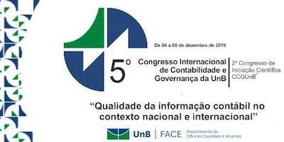 5º Congresso Internacional de Contabilidade e Governança da UnB