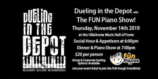 Dueling in the Depot with 'The FUN Piano Show'