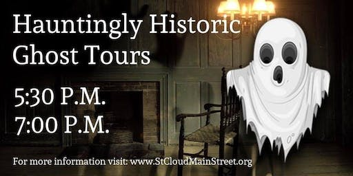 Hauntingly Historic Ghost Tours - October 2019