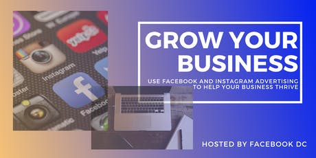 Grow Your Business with Instagram & Facebook tickets