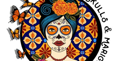 2019 Sugar Skulls and Marigolds