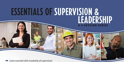 Essentials of Supervision & Leadership