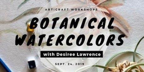 ARTiCRAFT: Botanical Watercolors 101 tickets